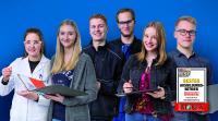 Remmers ist bester Ausbildungsbetrieb in der Chemieindustrie. In den letzten 10 Jahren fanden mehr 250 Auszubildende erfolgreich ihren Weg ins Berufsleben. (Bildquelle: Remmers, Löningen)