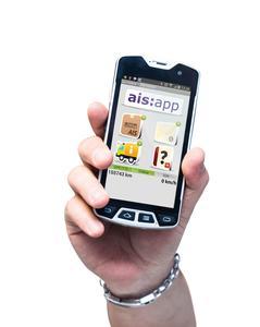 ais:mobile für Notdienste und Service-Techniker. Bild: AIS