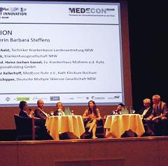 Podiumsdiskussion mit Landesgesundheitsministerin Barbara Steffens
