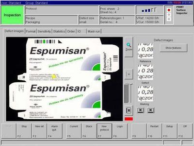 Keine Verwechslung möglich: Höchste Sicherheit durch 100% Aufdruckkontrolle an Pharmaverpackungen