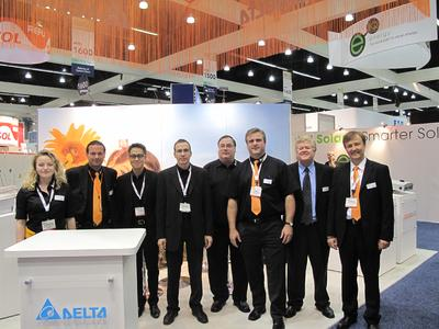Delta at the Solar Power International 2010