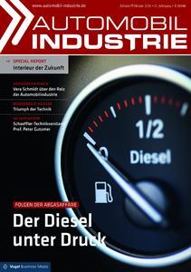 Titelseite Automobil Industrie
