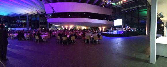 The traditional evening event of the SCHEMA Conference at the NCC Mitte, Messezentrum Nuernberg