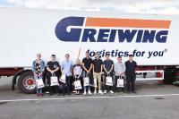 Die GREIWING logistics for you GmbH stellte in diesem Jahr 20 neue Auszubildende ein. Ein Großteil von ihnen nahm am 1. August am Stammsitz in Greven seine Arbeit auf. (Foto: GREIWING logistics for you GmbH)