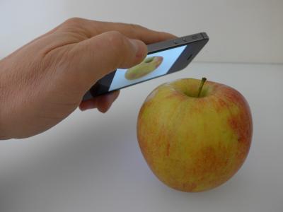 Die Zukunft: Produktinformationen mit dem Handy erfassen © Fraunhofer IOSB