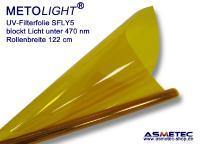 METOLIGHT UV-Filterfolie SFLY5