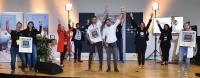 Die glücklichen Gewinner des Regional Cup Heilbronn-Franken 2020.