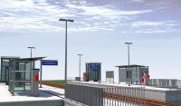 Die neue Projektvorlage von ALLPLAN für die BIM-basierte Bahnsteigplanung beinhaltet zahlreiche Objekte, die den Workflow der Planung, Modellerstellung, Auswertung, Dokumentation und Datenübergabe unterstützen. Copyright: ALLPLAN