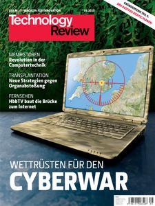 Das Titelbild der aktuellen Technology-Review-Ausgabe 9/2010