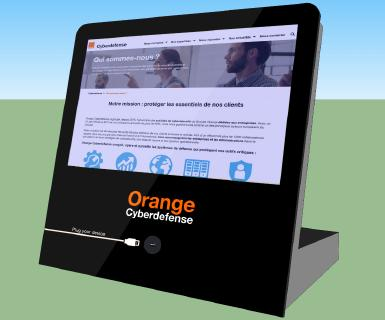 Orange Cyberdefense präsentiert neues mobiles Dekontaminationsterminal für USB-Sticks