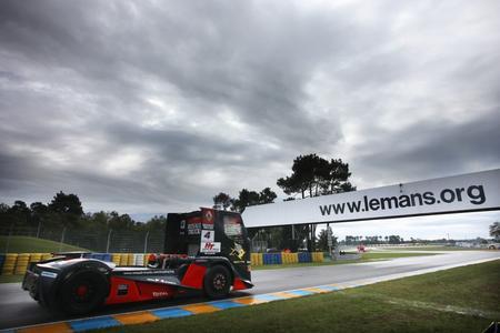 Nur selten rissen die Wolken beim Truck Grand Prix von Le Mans auf