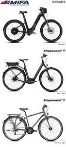 MIFA-Bike: Neuheiten bei GRACE und Steppenwolf