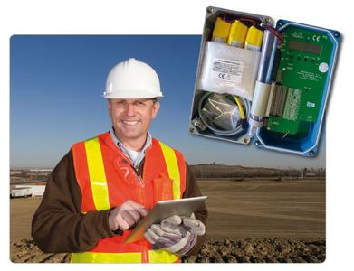 Der SensoBrick® von AMS Technologies ermöglicht die mobile Überwachung von Bauwerken und Bauteilen