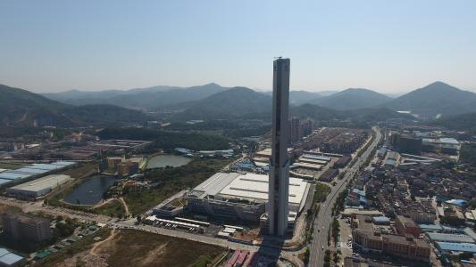 Zhongshan test tower March 2018