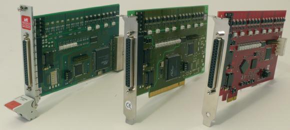 Opto-Isolierte Digital-Karten  der ME 8200 Serie für PCIe-, PCI- und cPCI-Bus
