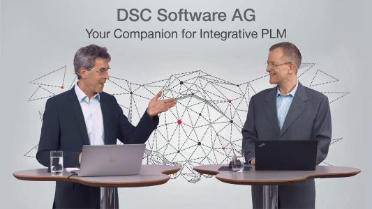 Welche Vorteile integratives PLM in SAP bietet, erläuterten die beiden DSC-Experten Arne Gaiser und Achim Rossel bei den virtuellen SAP PLM Infotagen 2021.