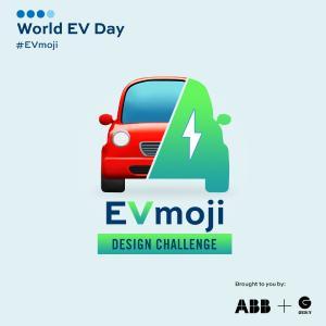 Die Gründer des World EV Day, ABB und Green.TV, rufen Teilnehmende bis 16 Jahre dazu auf, ein Emoji für ein Elektro-fahrzeug zu entwerfen / Bild: ABB