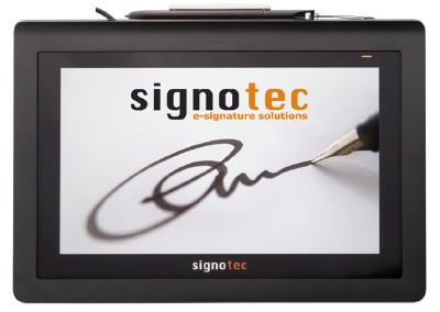 Available from April: signotec Delta with Power over Ethernet (PoE)
