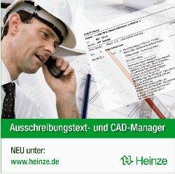 Ausschreibungtexte und CAD-Details unter www.heinze.de
