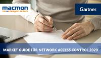 macmon secure jetzt im Gartner Market Guide for Network Access Control