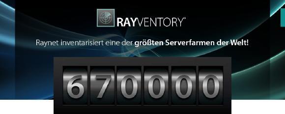 Raynet inventarisiert eine der größten Serverfarmen der Welt