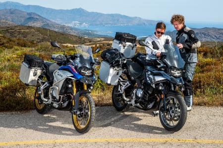 Wunderlich equipped BMW F 750 GS and F 850 GS Adventure