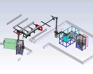 Die Automatisierungs- und Handhabungstechnik für FELIG, weltweit erste modulare Fertigungsstraße für Mikrobauteile über Röntgentiefenlithografie und Galvanik, entwickelte ACI-ecotec.