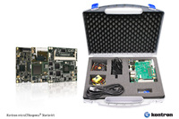 Kontron evaluation kit for the compact COM Express class