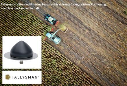 Tallysman Antennen mit neuen eXtended Filtering Features
