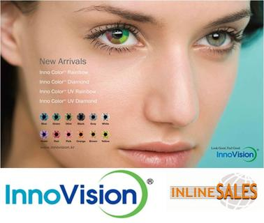 InnoVision Color Contact Lenses at Opti Munich 2014 in Germany