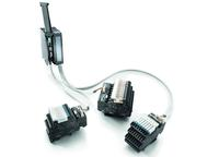 Weidmüller TERMSERIES interface adaptor: The new interface adaptors for TERMSERIES offer compact solutions for faster signal wiring and shorten the wiring time thanks to Plug & Play