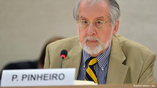 """Pinheiro: """"There is no military solution in Syria"""""""