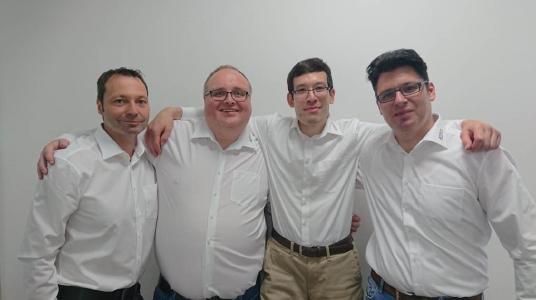 acmeo Team Security Standort Ruhrgebiet Patrick Küsters, Carsten Meißner, Helge Bienkowski, Nadim Khoury