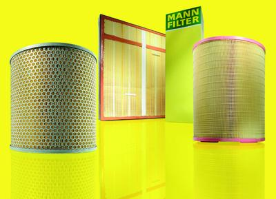 Filter from MANN-FILTER impress with quality and a wide product range for agricultural machines