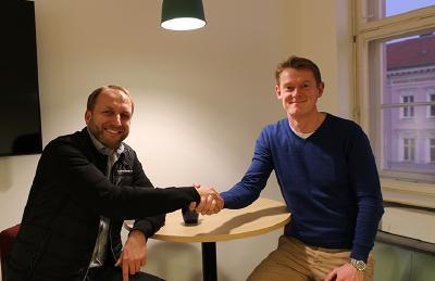 Geschäftsführer Thomas Görlitz und Jan Grefe