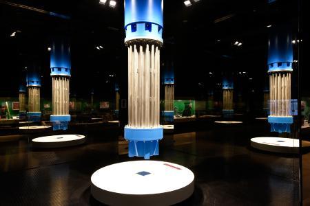 Pumpenkabinett, Deutsches Bergbau Museum Bochum - Bildnachweis: Pilkington Deutschland AG