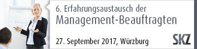 6. Erfahrungsaustausch der Management-Beauftragten
