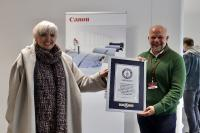 Neuer GUINNESS WORLD RECORDS™-REKORD durch Canon am 26.9.2020