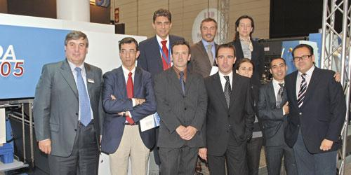 Management of Cartonajes Salinas in Spain pictured with representatives of KBA and its Spanish sheetfed agency, KBA-Ilasa, after making a snap decision in favour of a Rapida 105