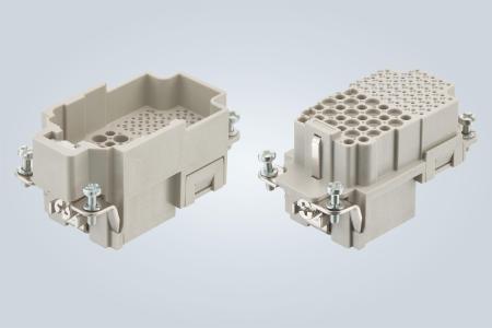 Der Han® K32/55 setzt neue Maßstäbe im Bereich der Miniaturisierung von Rechtecksteckverbindern