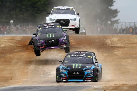 KYB: Auch in der FIA World Rallycross prominent vertreten.