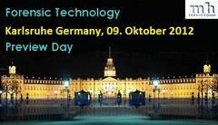 Forensic Technology Preview Day 2012