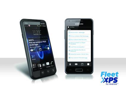 FleetXps auf dem Smartphone