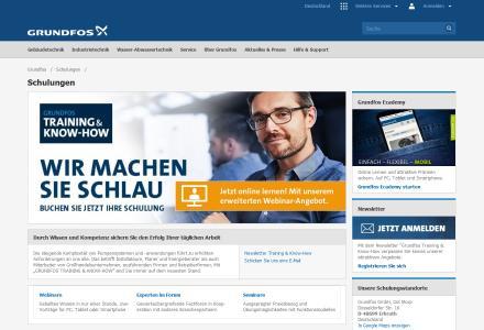 grundfos pressebild webinarangebot 2020