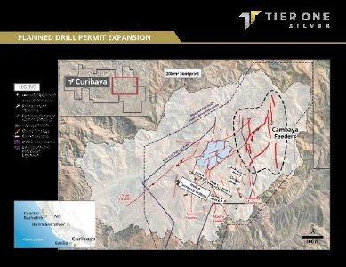 Abbildung 1: Veranschaulicht die Lage des Zielgebiets Cambaya und der Zuführungsstrukturen, das derzeit genehmigte Bohrgebiet und die geplante Erweiterung der Bohrgenehmigung, die es dem Unternehmen ermöglichen soll, im Jahr 2022 im Zielgebiet Cambaya Bohrungen durchzuführen