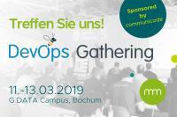 communicode ist Sponsor auf der DevOps Gathering 2019 in Bochum