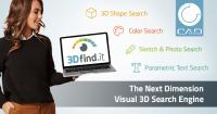Green light for 3Dfind.it - The visual search engine of the next dimension for 3D manufacturer components