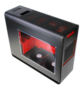 Caseking exklusiv: Silverstone Fortress FT02 Limited Edition in Schwarz/Rot