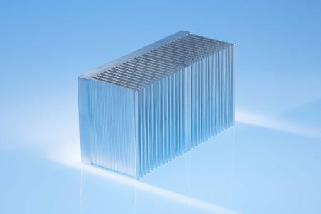 Aluminiumkühlkörper, die durch Reibrührschweißen gefertigt werden, sind besonders kompakt und leistungsstark