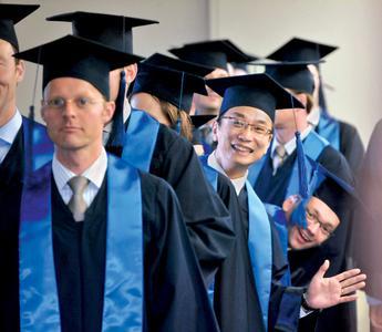 MBA students at ESMT